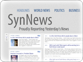 SynNews: News Timelines show you how the news is connected.